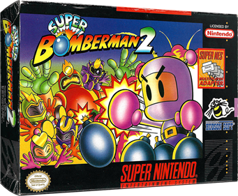 Super Bomberman 2 - Box - 3D