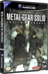 Metal Gear Solid: The Twin Snakes - Box - 3D