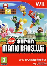 New Super Mario Bros. Wii - Box - Front
