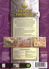 Heroes Chronicles: Warlords of the Wastelands - Box - Back