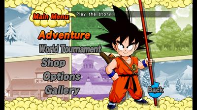 Dragon Ball: Revenge of King Piccolo - Screenshot - Game Select