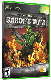 Army Men: Sarge's War - Box - 3D