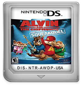 Alvin and the Chipmunks: The Squeakquel - Fanart - Cart - Front