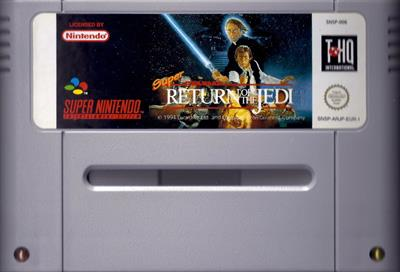 Super Star Wars: Return of the Jedi - Cart - Front