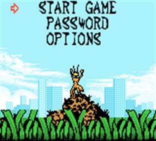 Antz - Screenshot - Game Select