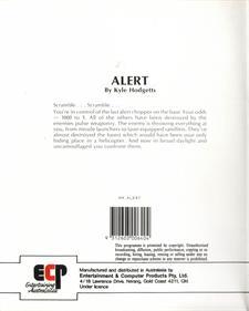 Alert - Box - Back