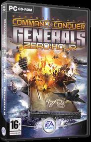 Command & Conquer: Generals: Zero Hour - Box - 3D