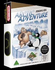 Arctic Adventure: Penguin & Seal - Box - 3D