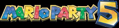 Mario Party 5 - Clear Logo