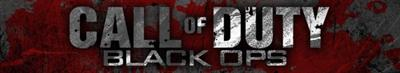 Call of Duty: Black Ops - Banner