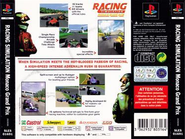 Monaco Grand Prix - Box - Back