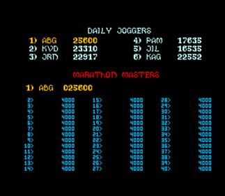 Mystic Marathon - Screenshot - High Scores