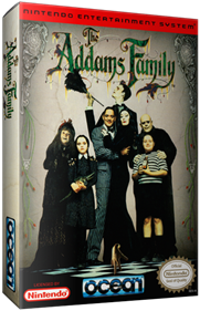 The Addams Family - Box - 3D