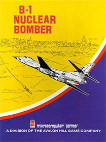 B-1 Nuclear Bomber - Box - Front