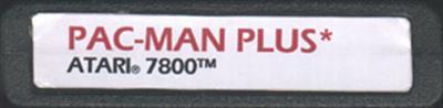 Pac-Man Plus - Fanart - Cart - Front
