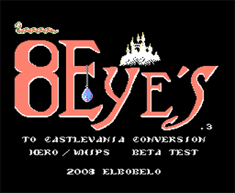 8 Eyes: Belmont's Quest - Screenshot - Game Title
