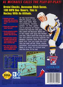 Brett Hull Hockey 95 - Box - Back
