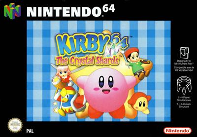 Kirby 64: The Crystal Shards - Box - Front