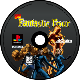 Fantastic Four - Fanart - Disc