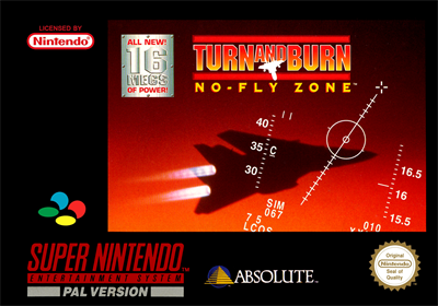 Turn and Burn: No-Fly Zone - Box - Front