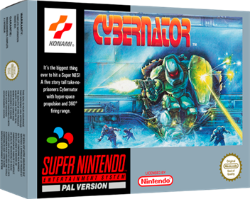 Cybernator - Box - 3D
