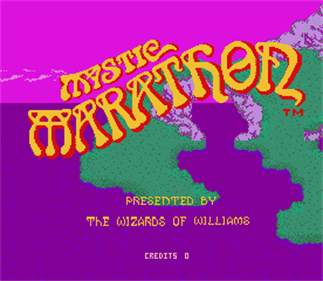 Mystic Marathon - Screenshot - Game Title