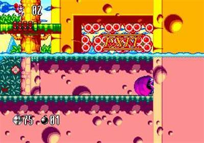 Mr. Nutz: Hoppin' Mad - Screenshot - Gameplay