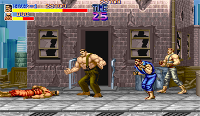 Final Fight - Screenshot - Gameplay