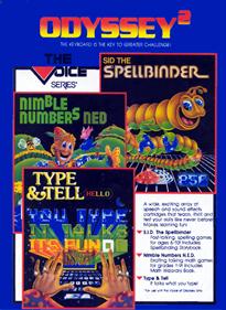 SID the Spellbinder - Box - Back
