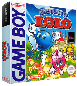 Adventures of Lolo - Box - 3D