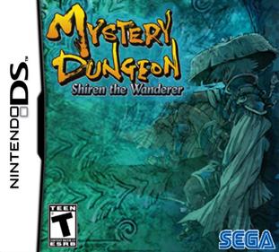 Mystery Dungeon: Shiren the Wanderer - Fanart - Box - Front