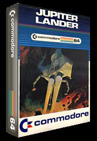 Jupiter Lander (Commodore) - Box - 3D