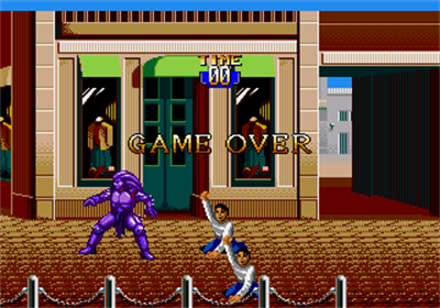 Mighty Morphin Power Rangers: The Movie - Screenshot - Game Over
