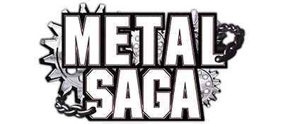 Metal Saga - Clear Logo