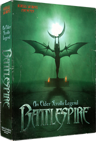 An Elder Scrolls Legend: Battlespire - Box - 3D