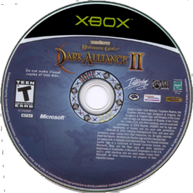 Baldur's Gate: Dark Alliance II - Disc