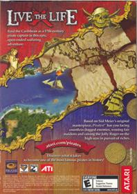 Sid Meier's Pirates! - Box - Back