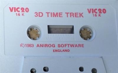 3D Time Trek - Cart - Front