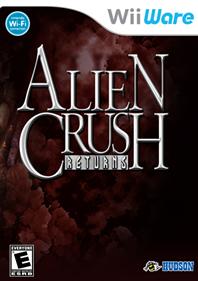 Alien Crush Returns - Fanart - Box - Front