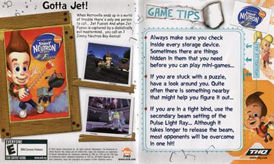 The Adventures of Jimmy Neutron: Boy Genius: Jet Fusion - Fanart - Background