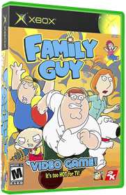 Family Guy Video Game! - Box - 3D