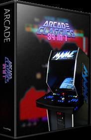 39 In 1 (MAME Arcade Classics Bootleg) - Box - 3D