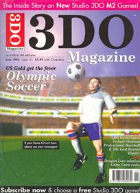 3DO Magazine: Interactive Sampler No 11 - Advertisement Flyer - Front