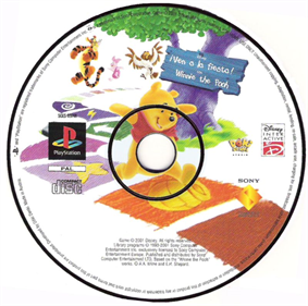 Disney's Pooh's Party Game: In Search of the Treasure - Disc