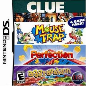 4 Game Pack!: Clue + Aggravation + Perfection + Mouse Trap