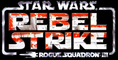 Star Wars Rogue Squadron III: Rebel Strike - Clear Logo