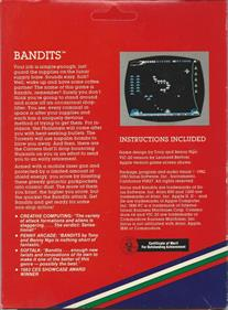 Bandits - Box - Back