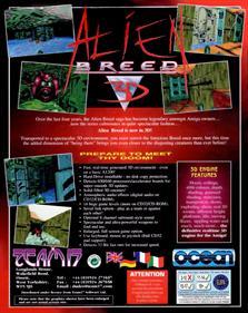 Alien Breed 3D - Box - Back