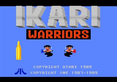 Ikari Warriors - Screenshot - Game Title