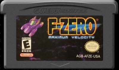 F-Zero: Maximum Velocity - Cart - Front
